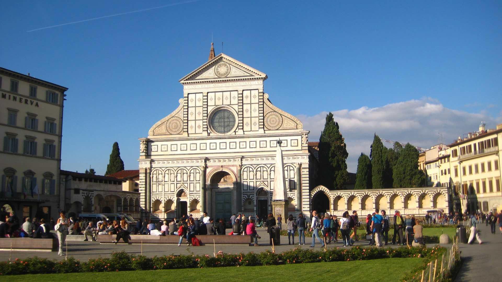 L'eglise de Santa Maria la Novella. ©M. Calvo.