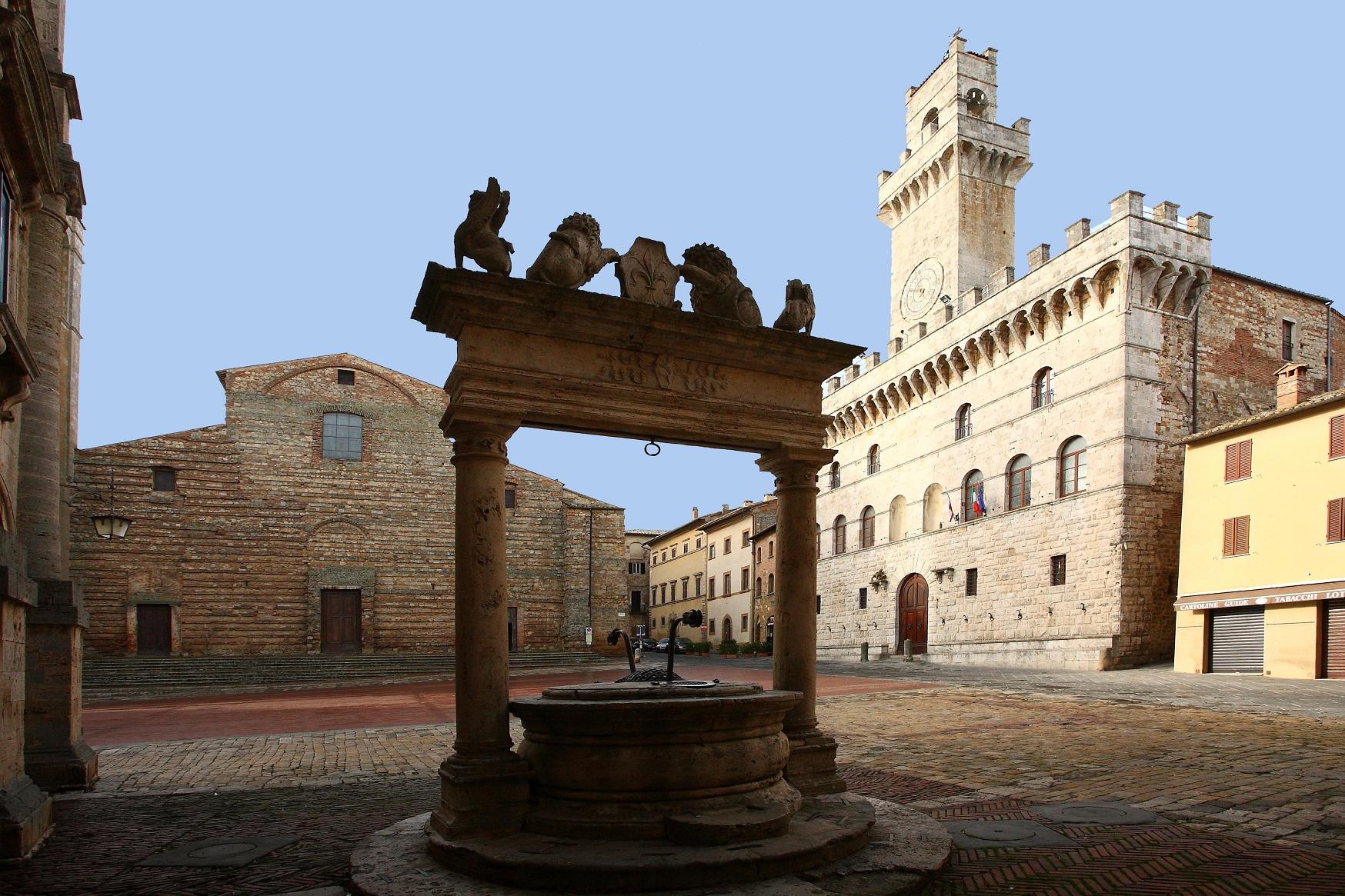 La Piazza Grande de Montepulciano