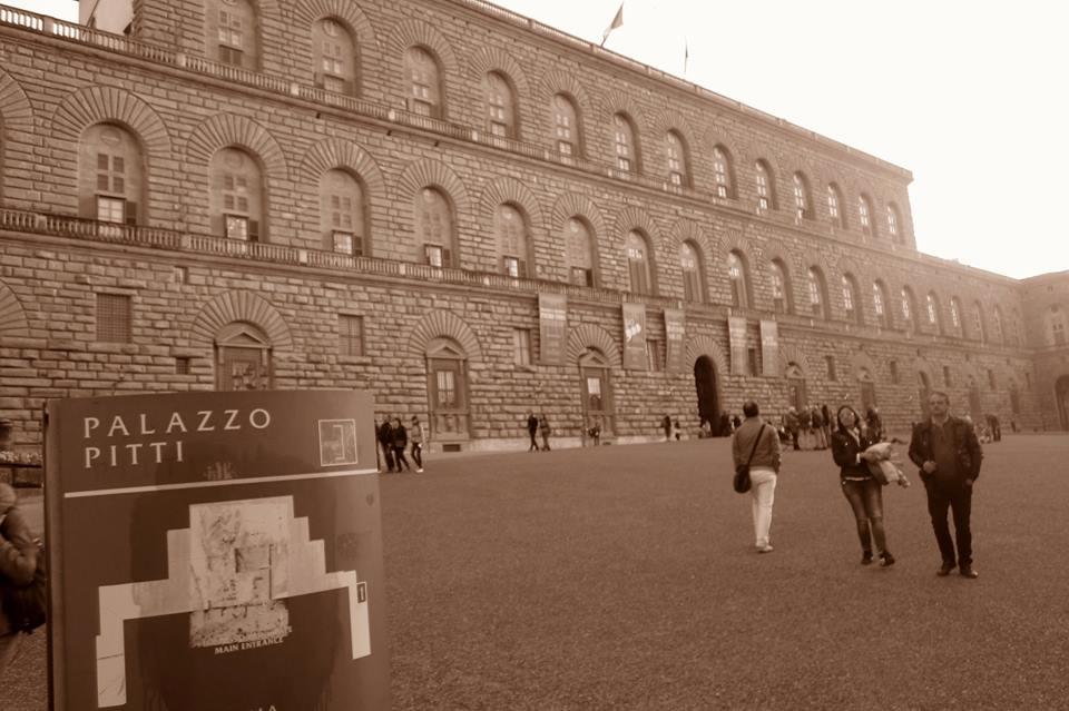 Visite au Palais PItti