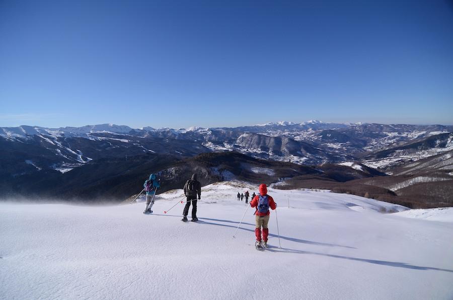 Dans la station de ski d'Abetone, près de Pistoia, dans l'Orcia. Ⓒ Rodríguez.