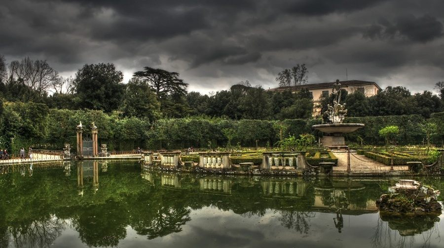 Jardins Boboli à Florence.