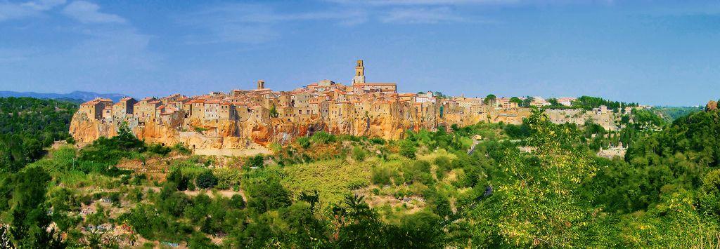La beauté du village de Pitigliano, dans la Maremme. Ivano.