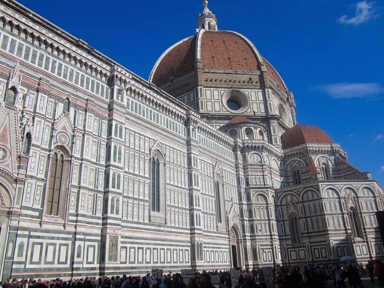 La coupole du Duomo de Florence. ©M. Calvo.