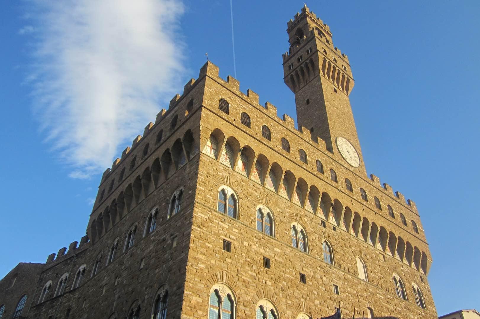 Le Palazzo Vecchio, symbole de la ville de Florence. ©María Calvo.