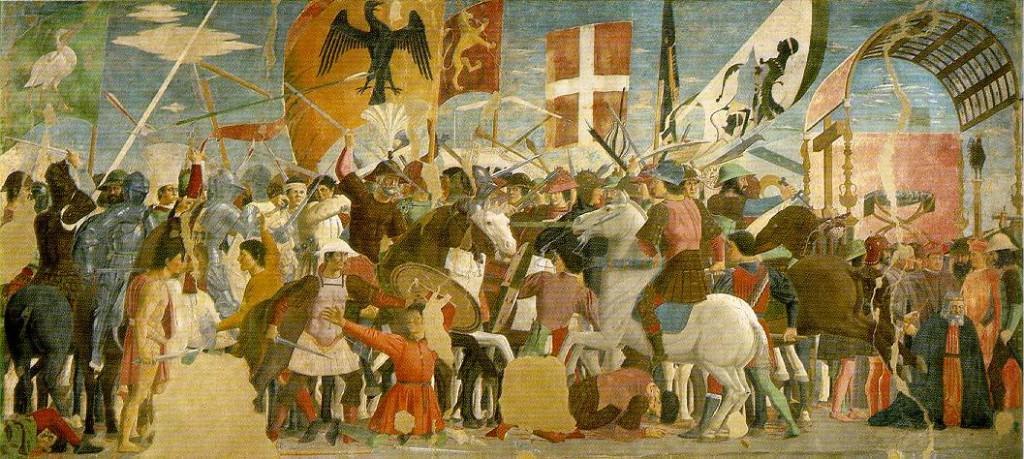 Peintures de Pietro della Francesca.