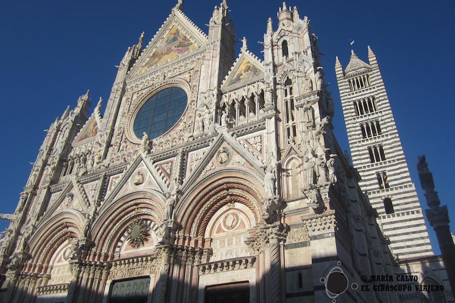Le Duomo de Sienne, magnifique