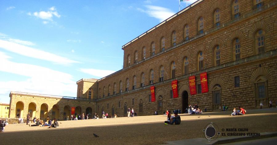 La plazza Pitti et le musée